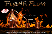 """Flame Flow™"" 15 gallon complete moonshine still"