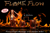 """Flame Flow™"" 6 gallon complete moonshine still"