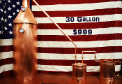 30 Gallon Complete Moonshine / Liquor Still - 2 Days Shipping