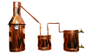 Copper Moonshine Still, 6 gallon still, pot still, 6 gal still, copper still, pot stills for sale