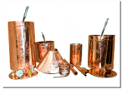 copper moonshine stills, pot stills, distillery, moonshine still, liquor stills, whiskey stills